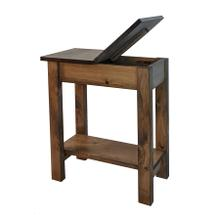 See Details - Flip Top End Table