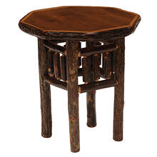 Octagon End Table - Espresso
