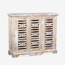 (LS) Ambon 3-Door Carved Cabinet