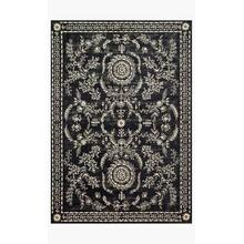 View Product - NAI-02 RP Black / Ivory Rug