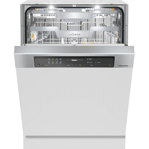 Semi-integrated dishwasher XXL with Automatic Dispensing thanks to AutoDos with integrated PowerDisk.