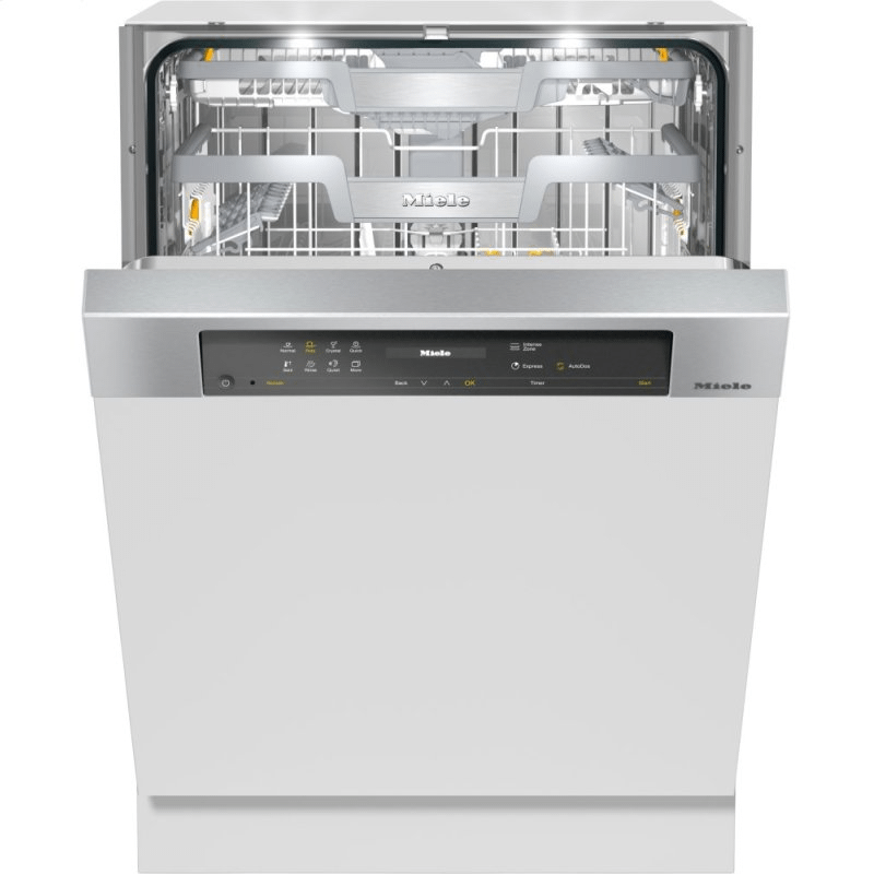 G 7516 SCi AutoDos - Semi integrated dishwasher with Automatic Dispensing thanks to AutoDos with integrated PowerDisk.