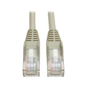 Cat5e 350 MHz Snagless Molded (UTP) Ethernet Cable (RJ45 M/M) - Gray, 30 ft.