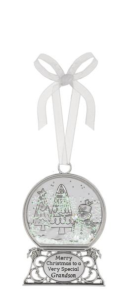 Ornament - Merry Christmas to a Very Special Grandson