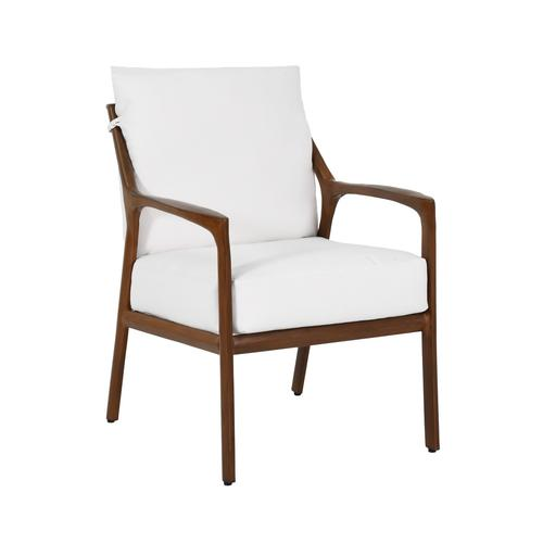 Castelle - Berkeley Cushioned Dining Chair