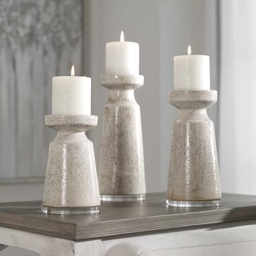 Uttermost - Kyan Candleholders, S/3
