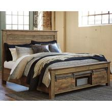 Sommerford Queen Panel Bed With Storage Brown