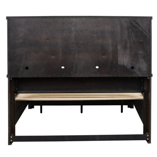 King Bookcase Headboard