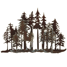 See Details - Small Layered Forest Wall Decor