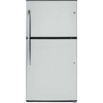 GE 21.2 cu.ft. Top Freezer Refrigerator Stainless Steel GTE21GSHSS