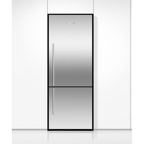 "Fisher & Paykel - Freestanding Refrigerator Freezer, 25"", 13.5 cu ft, Ice"
