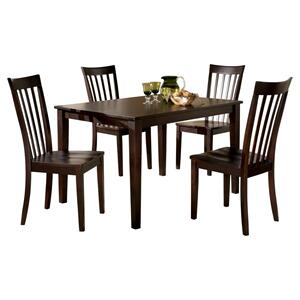 Ashley FurnitureASHLEYHyland Dining Room Table and Chairs (set of 5)