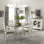 Optional 5 Piece Rectangular Table Set