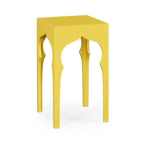 Square lamp table (Yellow Rain Coat)