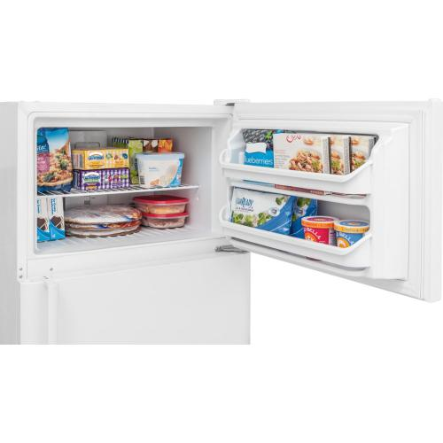 Crosley Top Mount Refrigerator : Top Mount Refrigerator - White