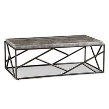 See Details - Cullet Rectangle Cocktail Table