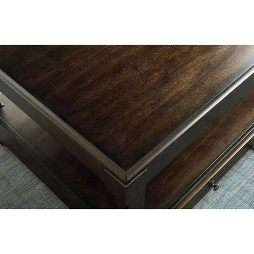 Hammary - RECTANGULAR LIFT TOP COFFEE TABLE
