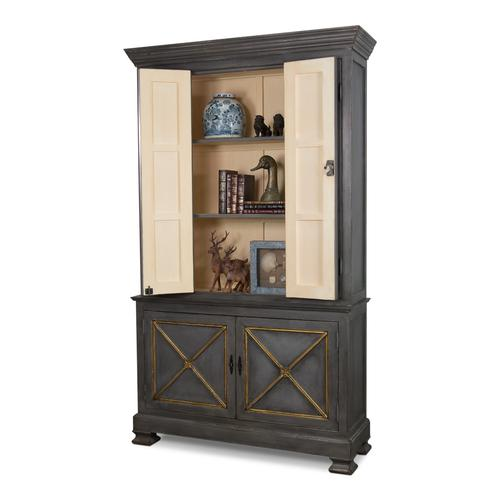 Painted Directoire Style Bookcase