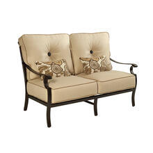 View Product - Monterey High Back Cushioned Loveseat
