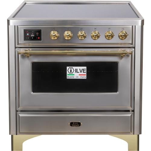 36 Inch Stainless Steel Electric Freestanding Range