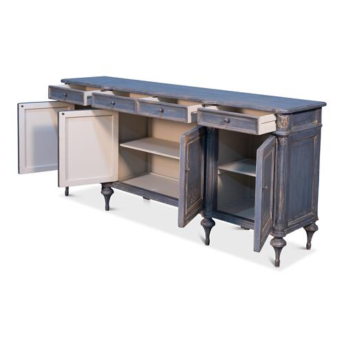 Lilac Sideboard W/ Highfeet