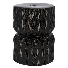 See Details - Pansy Garden Stool - Black