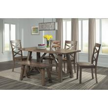 View Product - Renegade Table, 4 Side Chairs and Bench