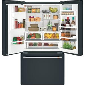 Cafe AppliancesENERGY STAR® 27.8 Cu. Ft. Smart French-Door Refrigerator with Hot Water Dispenser