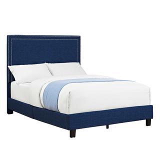 Erica Upholstered Full Platform Bed
