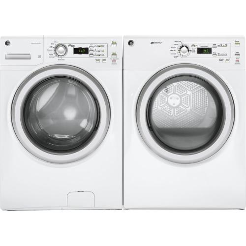 GE 7.0 Cu. Ft. Front Load Gas Dryer White - GFD40GSMMWW