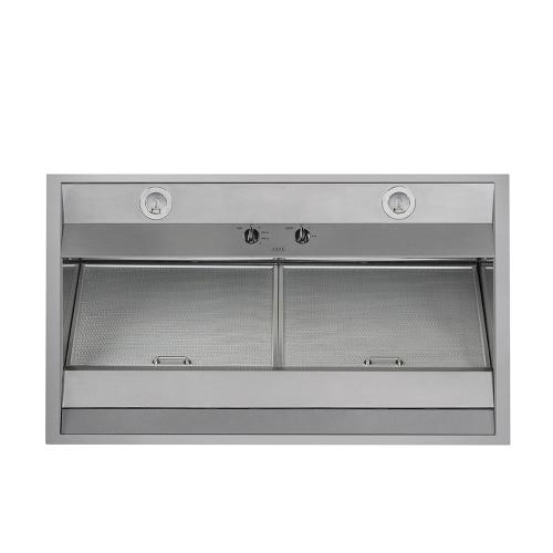"""Cafe 30"""" Commerical Hood Stainless Steel"""