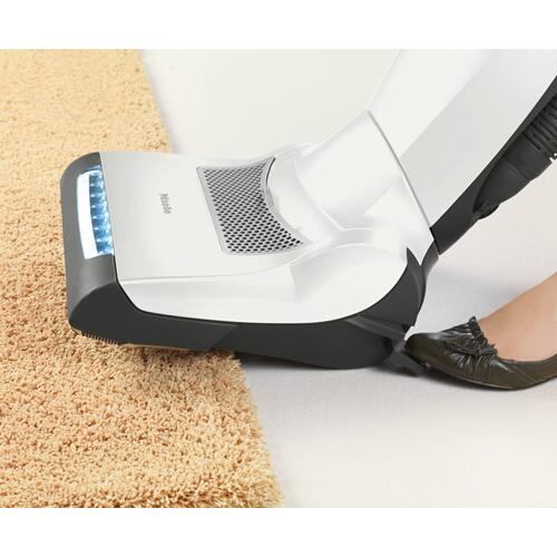Upright vacuum cleaners with integrated electrobrush and LED lighting for the highest standards.