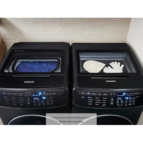 7.5 cu. ft. FlexDry™ Gas Dryer in Black Stainless Steel