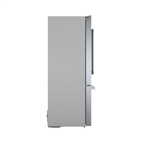 800 Series French Door Bottom Mount 36'' Easy Clean Stainless Steel B36CT81SNS