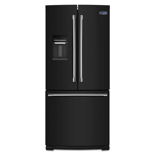 Gallery - 30-inch Wide French Door Refrigerator with External Water Dispenser- 20 cu. ft.
