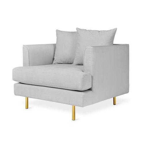 Product Image - Margot Chair Velvet London / Brass