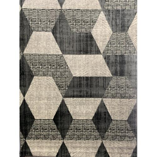 "Tess Collection 904 Gray - 5' 3"" x 7' 4"" / TES904 / Gray"