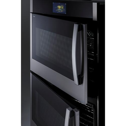 "GE Profile™ 30"" Smart Built-In Convection Double Wall Oven with Right-Hand Side-Swing Doors"
