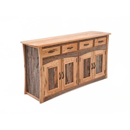 Green Gables Furniture - Hampton Heath 4 Door 4 Drawer Hutch - (base)