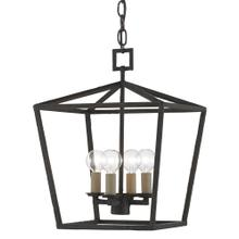 Denison Black Small Lantern