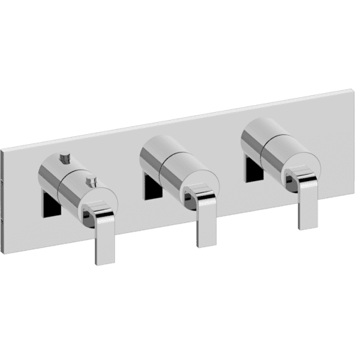 M-Series Valve horizontal Trim with Three Handles - Trim only