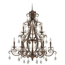 25629-FR - 9 Light Chandelier