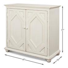 See Details - Diamond Sideboard, 2 Door, Antique White