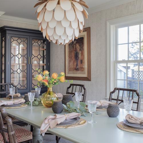Woodbridge Furniture - Vashon Display Cabinet - Top