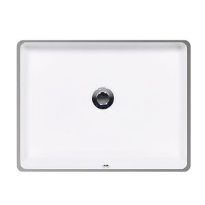 """White KARO II Undermount Lavatory, 18"""" Product Image"""