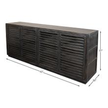 St Lucia Sideboard W/Solid Sides