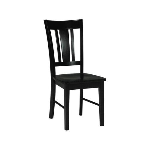 John Thomas Furniture - San Remo Chair in Black