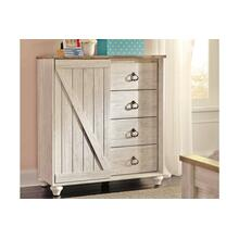 Willowton Dressing Chest Whitewash