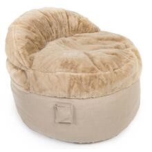 View Product - King Chair - NEST Bunny Fur - Beige