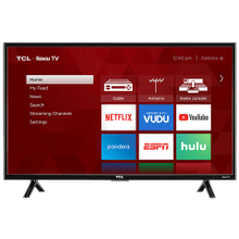 """See Details - TCL 40"""" Class 3-Series FHD LED Roku Smart TV - 40S303"""